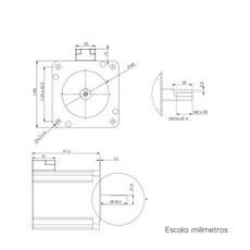 Easy Servo Motor Leadshine 4N.m - ES-M23440