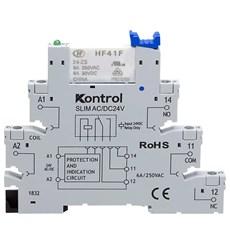 Interface Borne Relé SLIM AC/DC 24V - Kontrol