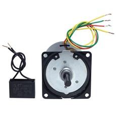 Micro Motor AC C/ Cx. Red. 220V 5RPM 70Kgf.cm - AK60SY20/220-R5
