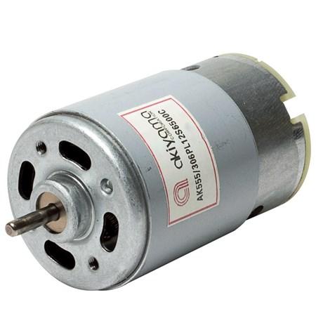 Micro Motor DC Akiyama 12V 6500RPM - AK555/306PL12S6500C