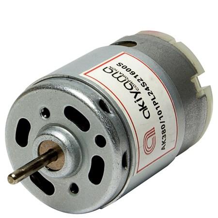 Micro Motor DC Akiyama 24V 21600RPM - AK380/101PL24S21600S