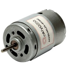 Micro Motor DC Akiyama 24V 9100RPM - AK380/92.4ML24S9100C