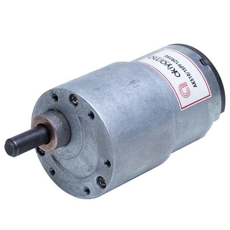 Micro Motor DC Akiyama com Caixa de Redução 12V 3RPM 15Kgf.cm - AK510/15PF12R3SE