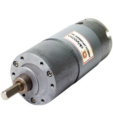 Micro Motor DC Akiyama com Caixa de Redução 12V 83RPM 11.10Kgf.cm - AK555/11.1PF12R83CE-SG
