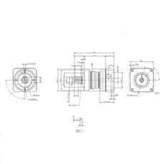 Redutor Planetário de Precisão (1:10) - PE II 050-010 - Apex Dynamics - 12mm