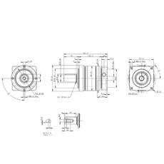 Redutor Planetário de Precisão (1:10) - PE II 120-010